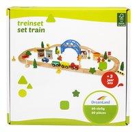 DreamLand Train en bois 60 pièces-Avant
