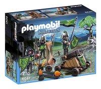 Playmobil Knights 6041 La catapulte des chevaliers du Loup