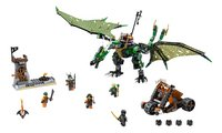 LEGO Ninjago 70593 Le dragon émeraude de Lloyd-Avant