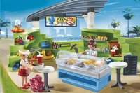 Playmobil Summer Fun 6672 Espace boutique et fast-food-Image 1