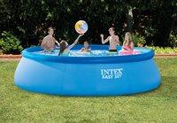 Intex zwembadset Easy Set Ø 4,57 m - 1,07 m-Afbeelding 1