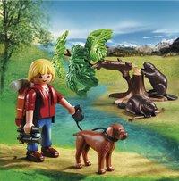 Playmobil Wild Life 5562 Randonneur avec castors-Image 1