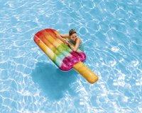 Intex matelas gonflable pour 1 personne Glace à l'eau-Image 1