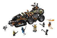 LEGO Ninjago 70654 Dieselnaut-Vooraanzicht