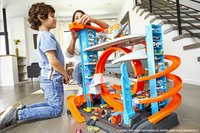 Hot Wheels circuit acrobatique City Méga Garage-Image 2