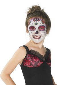 Déguisement Day of the Dead pour filles taille 146-Image 1