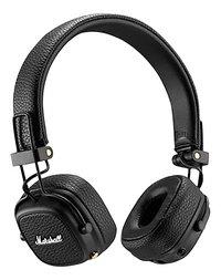 Marshall casque Bluetooth Major III noir-Avant