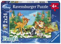 Ravensburger puzzel 2-in-1 Mijn vriendje Bambi
