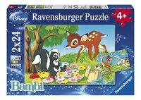 Ravensburger puzzle 2 en 1 Bambi et ses amis