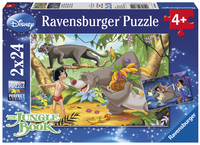 Ravensburger puzzle 2 en 1 Les amis de Mowgli