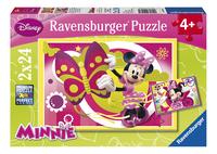 Ravensburger puzzle 2 en 1 Une journée avec Minnie