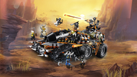 LEGO Ninjago 70654 Dieselnaut-Afbeelding 7