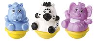 VTech ZoomiZooz Trio Animaux assortis - zèbre, hippopotame, éléphant-commercieel beeld