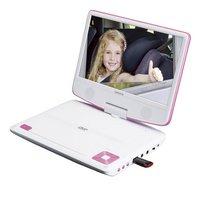 Lenco lecteur DVD portable DVP-910 9/ blanc/rose-Image 1