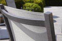 Chaise de jardin Forios gris/anthracite-Arrière