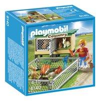 Playmobil Country 6140 Konijnenhok met buitenren