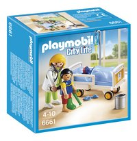 Playmobil City Life 6661 Chambre d'enfant avec médecin