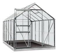 ACD serre Intro Grow Lily 6,2 m² aluminium-Avant
