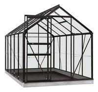 ACD Serre Intro Grow Lily 6.2 m² zwart-Vooraanzicht