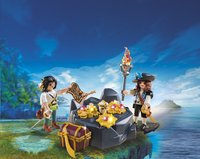 Playmobil Pirates 6683 Pirates et trésor royal-Image 1