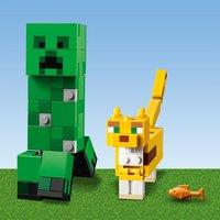 LEGO Minecraft 21156 Bigfigurine Creeper et ocelot-Image 4