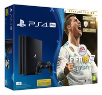 PS4 Console Pro 1 To + Fifa 18 Ronaldo Edition