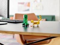 LEGO Minecraft 21156 Bigfigurine Creeper et ocelot-Image 5