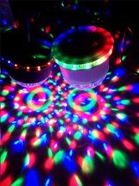 ibiza Jeu de lumière LED 2 en 1 ufo/astro-Image 1