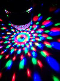ibiza Jeu de lumière LED 2 en 1 ufo/astro-Image 2