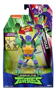 Rise of the Teenage Mutant Ninja Turtles actiefiguur Side Flip Ninja Attack Donatello-Vooraanzicht