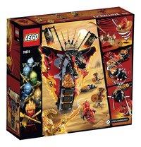 LEGO Ninjago 70674 Vuurtand-Achteraanzicht