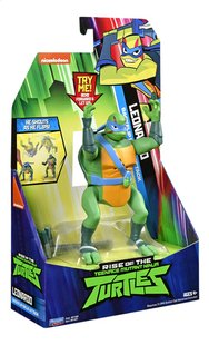 Rise of the Teenage Mutant Ninja Turtles actiefiguur Back Flip Ninja Attack Leonardo-Linkerzijde