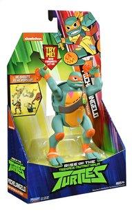 Rise of the Teenage Mutant Ninja Turtles actiefiguur Pop-Up Ninja Attack Michelangelo-Linkerzijde