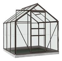 ACD Serre Intro Grow Daisy 3.8 m² antraciet-Vooraanzicht