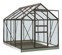 ACD Serre Intro Grow Ivy 5 m² anthracite-Avant