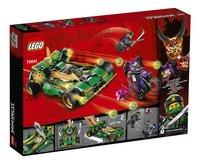 LEGO Ninjago 70641 Ninja Nachtracer-Achteraanzicht