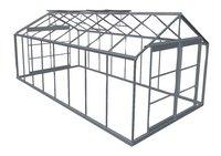 ACD Serre Royal 38 18.24 m² aluminium-Vooraanzicht