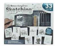 Royal & Langnickel Coffret à dessin Esquisser Projets faciles