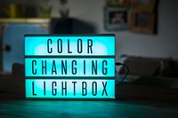 Lightbox Color Changing A4-Afbeelding 2