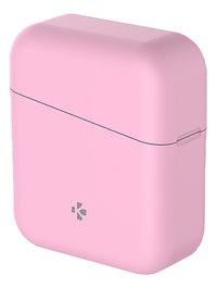 MyKronoz écouteurs Bluetooth ZeBuds Lite avec boîtier de charge rose-Côté droit