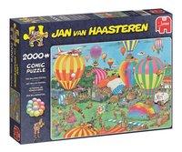 Jumbo puzzel Jan Van Haasteren Het ballon festival-Linkerzijde