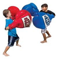 Opblaasbare bokshandschoenen Mega Boxing Gloves rood/blauw-Afbeelding 1