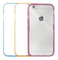 bigben coque bumper pour iPhone 6/6S neon - 3 pièces