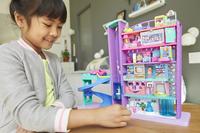 Mattel Speelset Polly Pocket Polyville Mega Mall Super Pack-Afbeelding 7