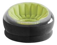 Intex Opblaasbare zetel Empire zwart/lime-Vooraanzicht