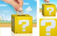 Spaarpot Mario vraagteken blok
