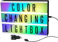 Lightbox Color Changing A4-Vooraanzicht
