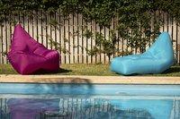 Sunvibes opblaasbare loungezetel Travel Lounger fuchsia-Afbeelding 6