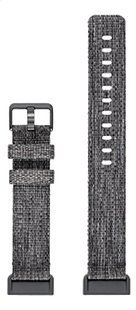 Fitbit armband band voor Charge HR 3 L charcoal-Vooraanzicht