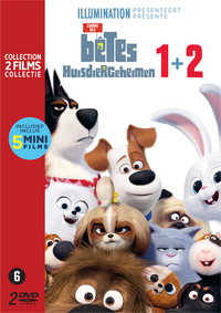 Dvd The Secret Life of Pets 1&2-Vooraanzicht